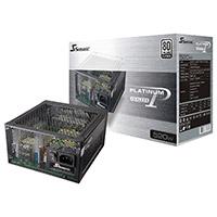 Seasonic 520FL 520W Fanless 80+ Platinum Certified PSU Full Modular Jap Caps - Click below for large images