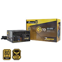 Seasonic Core GM 650w 80+ Gold Semi Modular PSU - Click below for large images