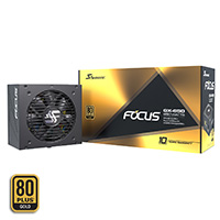 Seasonic Focus 650w 80+ Gold Modular PSU - Click below for large images