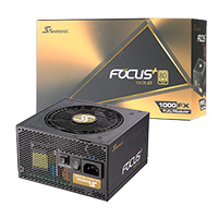 Seasonic Focus Plus 1000W Gold 80 Plus Full Modular PSU - Click below for large images