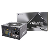 Seasonic Focus Plus 550W Platinum 80 Plus Full Modular PSU - Click below for large images