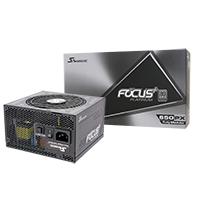 Seasonic Focus Plus 650W Platinum 80 Plus Full Modular PSU - Click below for large images