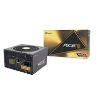 Seasonic Focus Plus 750W Gold 80 Plus Full Modular PSU - Click below for large images