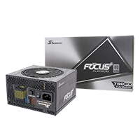 Seasonic Focus Plus 750W Platinum 80 Plus Full Modular PSU - Click below for large images