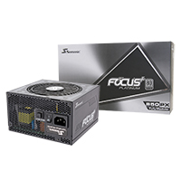 Seasonic Focus Plus 850W Platinum 80 Plus Full Modular PSU - Click below for large images