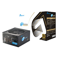 Seasonic G450 450W 80+ Gold Certified PSU Semi Modular Jap Caps DBB Fan - Click below for large images