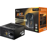 Seasonic M12-II EVO 520W 80+ Bronze Certified PSU Jap Caps Fully Modular SC264 - Click below for large images