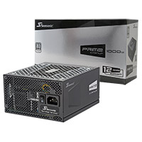 Seasonic Prime 1000W Titanium 80 Plus Full Modular PSU - Click below for large images