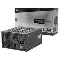 Seasonic Prime 1000W Titanium 80 Plus Full Modular PSU - Click below for large images