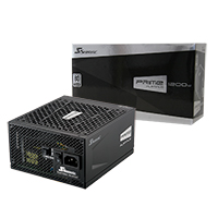 Seasonic Prime 1200w Platinum PSU 80 Plus Modular Active PFC - Click below for large images