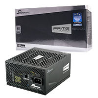 Seasonic Prime 1300w Platinum PSU - Click below for large images