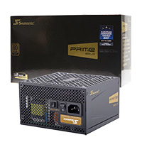 Seasonic Prime Ultra 650w Gold PSU 80 Plus Modular Active PFC - Click below for large images