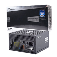 Seasonic Prime Ultra 750w Platinum PSU 80 Plus Modular Active PFC - Click below for large images