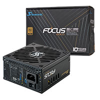 Seasonic Focus SGX 650W SFX PSU With ATX Bracket - Click below for large images
