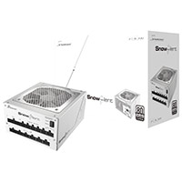 Seasonic SS-750XP2 Snow Silent 750W 80+ Platinum Certified  White PSU - Click below for large images