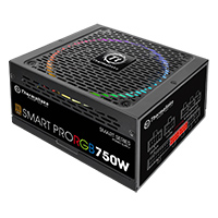 Thermaltake Smart Pro 750W Fully Modular PSU RGB Fan 80 Plus - Click below for large images