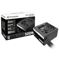 Thermaltake TR2 S Series 500W Power Supply 80 Plus Certified Active PFC - Click below for large images