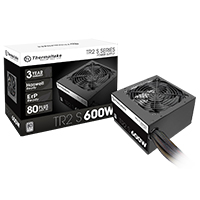 Thermaltake TR2 S Series 600W Power Supply 80 Plus Certified Active PFC - Click below for large images