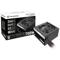 Thermaltake TR2 S Series 700W Power Supply 80 Plus Certified Active PFC - Click below for large images