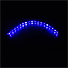 Game Max 30cm Magnetic LED Strip - Blue - Alternative image
