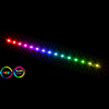 View more info on GameMax Viper ARGB 30cm Strip 3pin Aura Sync 15 LED...