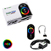 Game Max RGB RF Remote Control & Receiver With Touch Control Sata Connector - Alternative image
