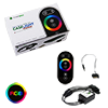 View more info on GameMax 4pin RGB RF Remote Control & Receiver With Touch Control Sata Power...