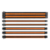View more info on Thermaltake TtMod Sleeved Cable Black & Orange Kit...
