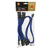 Thermaltake Individually Sleeved Cable Blue 500mm 4Pin Peripheral Cable - Alternative image