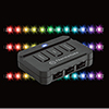 View more info on Thermaltake Lumi RGB Magnetic LED Kit With 3 Adjustable Brightness levels...
