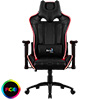View more info on Aerocool AC120 Air RGB Black Gaming Chair with Air Technology and Headrest & Backrest Cushions Included...