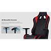 Aerocool AC220 Air Black Gaming Chair ETA. Coming Soon - Alternative image