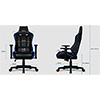 Aerocool AC220 Air RGB Black Gaming Chair with Air Technology and Headrest & Backrest Cushions Included - Alternative image