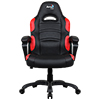 View more info on Aerocool AC80C Air Black & Red Gaming Chair with Air Technology & Unique Carbon Fibre Blend...