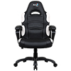 View more info on Aerocool AC80C Air Black & White Gaming Chair with Air Technology & Unique Carbon Fibre Blend...