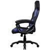 Aerocool AC80C Air Black & Blue Gaming Chair with Air Technology & Unique Carbon Fibre Blend - Alternative image