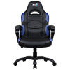 View more info on Aerocool AC80C Air Black & Blue Gaming Chair with Air Technology & Unique Carbon Fibre Blend...