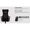 Aerocool P7-GC1 Air RGB Black Gaming Chair ETA. Coming Soon  - Alternative image