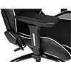 AK Racing  Overture White Gaming Chair  - Alternative image