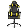 View more info on AK Racing  Overture Yellow Gaming Chair...