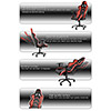 AK Racing  Player 6014 Gaming Chair Black Red - Alternative image