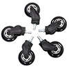 AK Racing  Rollerblade Casters White - Alternative image