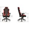 Thermaltake Tt E-Sports GTC 500 Black & Red Comfort Series Gaming  - Alternative image