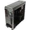 Aerocool Aero-500 Black RGB Gaming Case With Window - Alternative image