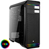 View more info on Aerocool Aero-500 Black RGB Mid-Tower Gaming Case With Window...