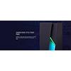 Aerocool Bolt Mid-Tower Perspex Side Panel RGB LED Front Panel - Alternative image