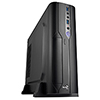 View more info on Aerocool CS-101 Slim Black Micro ATX / Desktop Case 2 x USB 3.0 Black Interior...