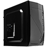 View more info on Aerocool CS102 Black Mid Tower Case 2 x USB2 1 x USB3 ...