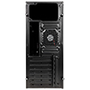 Aerocool CS1102 Black Mid Tower Micro ATX 1 x 80mm Rear Fan 2 x USB2 1 x USB3 - Alternative image