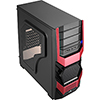 View more info on Aerocool Cyclops Red Midi Case...